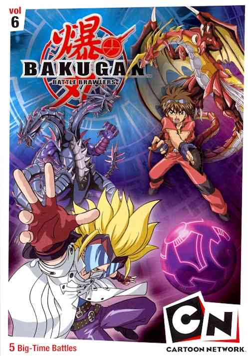 BAKUGAN VOLUME 6:TIME FOR BATTLE BY BAKUGAN (DVD)